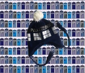 e3e23778c04 Image is loading Doctor-Who-BBC-Official-Licensed-TARDIS-Beanie-LAPLANDER-