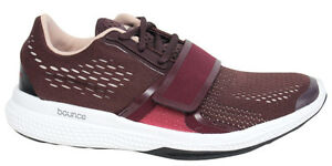 low priced 8cee5 2ee94 Image is loading Adidas-Atani-Stella-McCartney-Bounce-Lace-Up-Maroon-