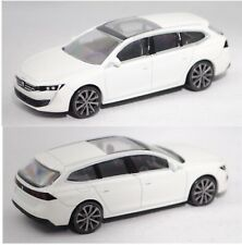 Norev 310907 Peugeot 508 dunkelblau Maßstab 1:64 Modellauto NEU!°