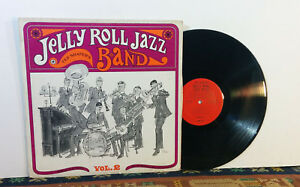 Details about Ted Shafer's Jelly Roll Jazz Band - Volume 2 (1950s LP) Jazz  Dixieland - Rare