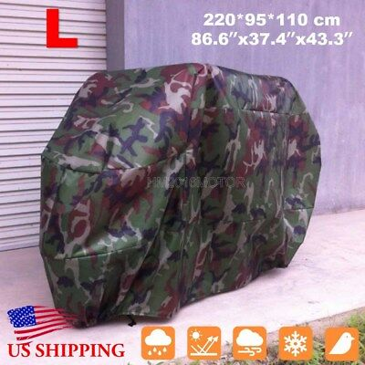 L Waterproof Motorcycle Cover For Honda Forza Ruckus Reflex Elite PCX150 Scooter