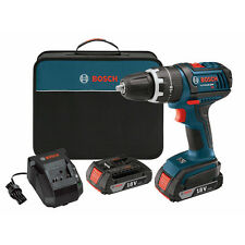 "New Inbox BOSCH 18V Cordless Li-Ion Compact Tough 1/2"" Drill Driver DDS181-02"