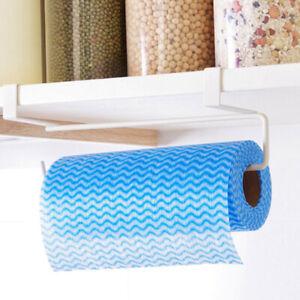 Under-Cabinet-Paper-Roll-Rack-Kitchen-Tissue-Hanger-Towel-Holder-Accessories