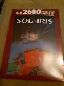 SOLARIS-for-ATARI-2600-BRAND-NEW-FREE-SHIPPING