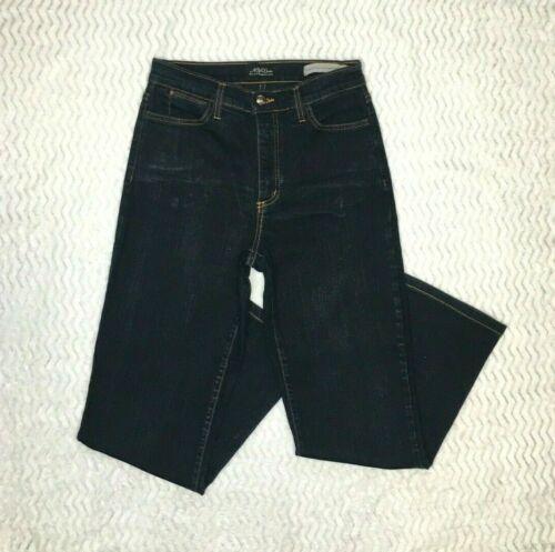 NYDJ  Size 6 Jeans Dark Blue Wash Denim Straight l