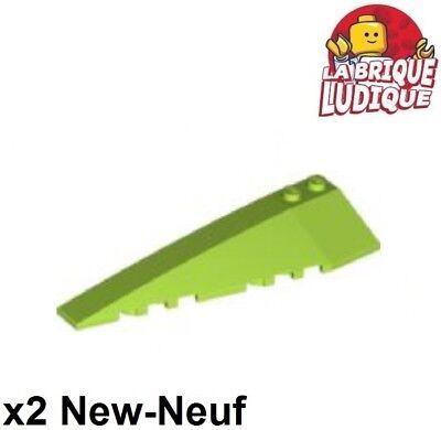 2x Wedge 10x3 Links Links Flügel Steigung Grün Zitrone/limette 50955 Neu Lego Bausteine & Bauzubehör 2019 Mode Lego Lego Bau- & Konstruktionsspielzeug