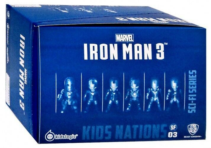 Kids Nations Sci-Fi Series Iron Man 3 Mini Figure Set