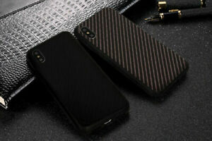 Back-Case-CARBON-GLAS-Schutzglas-Huelle-Tasche-Schale-Cover-Etui-ver-Handy