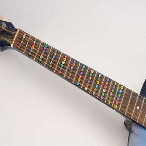 Guitar Parts & Accessories Fretboard Notes Map Labels Sticker Fingerboard Fret Decals For 6 String Guitar 9*1cm