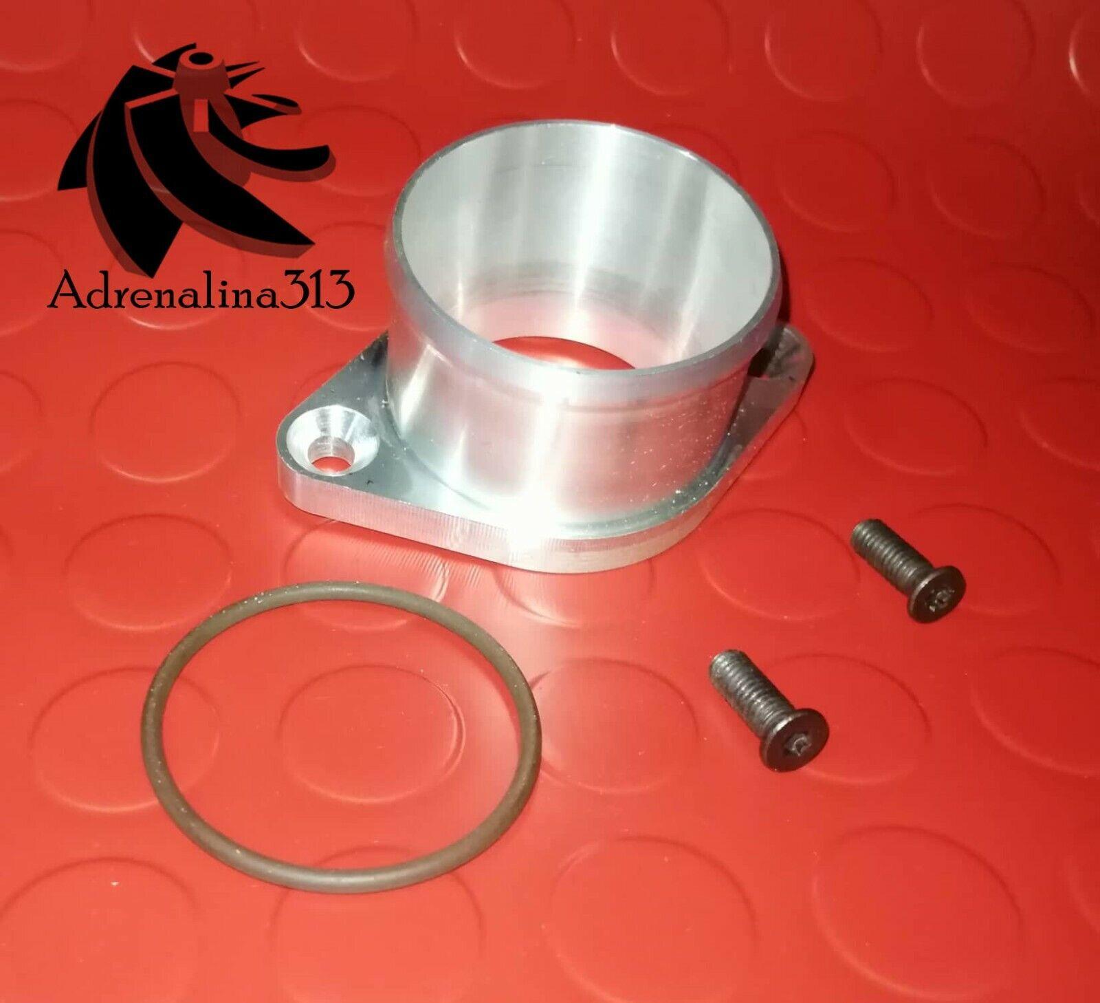 Conversione flangia di scarico Turbo adattatore KIMISS 2.5 in 63mm conversione flangia di scarico flangia di scarico in acciaio inox per T25 GT25 GT28