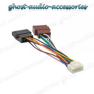 alpine radio wiring diagram colors alpine 16 pin iso wiring harness connector adaptor car ...