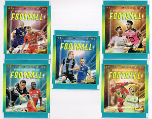 PANINI-5-different-sealed-packets-Belgian-Pro-League-2018-Football-Belgium