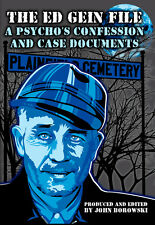 The Ed Gein File BRAND NEW BOOK FREE SHIPPING serial killer
