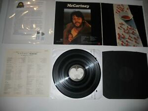 Paul-McCartney-Beatles-McCartney-Japan-Mint-039-75-ARCHIVE-MASTER-Ultrasonic-CLN
