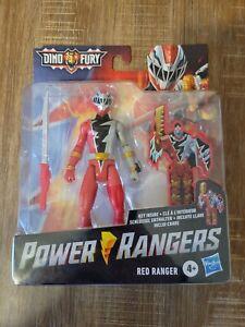 POWER RANGERS DINO FURY RED RANGER 6-INCH ACTION FIGURE KEY INSIDE UNLOCKS