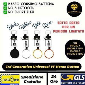 Tasto-iPhone-7-7Plus-8-8Plus-Centrale-Home-Universale-YF-Ultima-Generazione