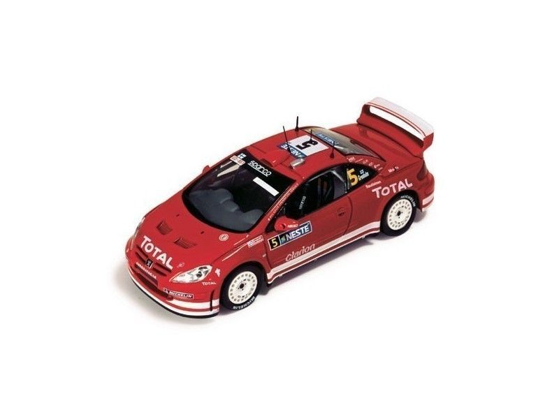 IXO 1 43 PEUGEOT 307 WRC  5  M.GRONHOLM-T.RAUTIAINEN RALLY FINLANDIA 2004 RAM152