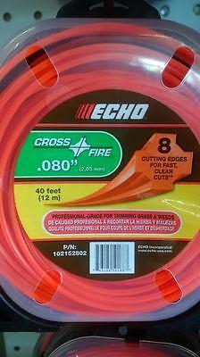 Echo .080 Cross Fire 1lb Trimmer Line