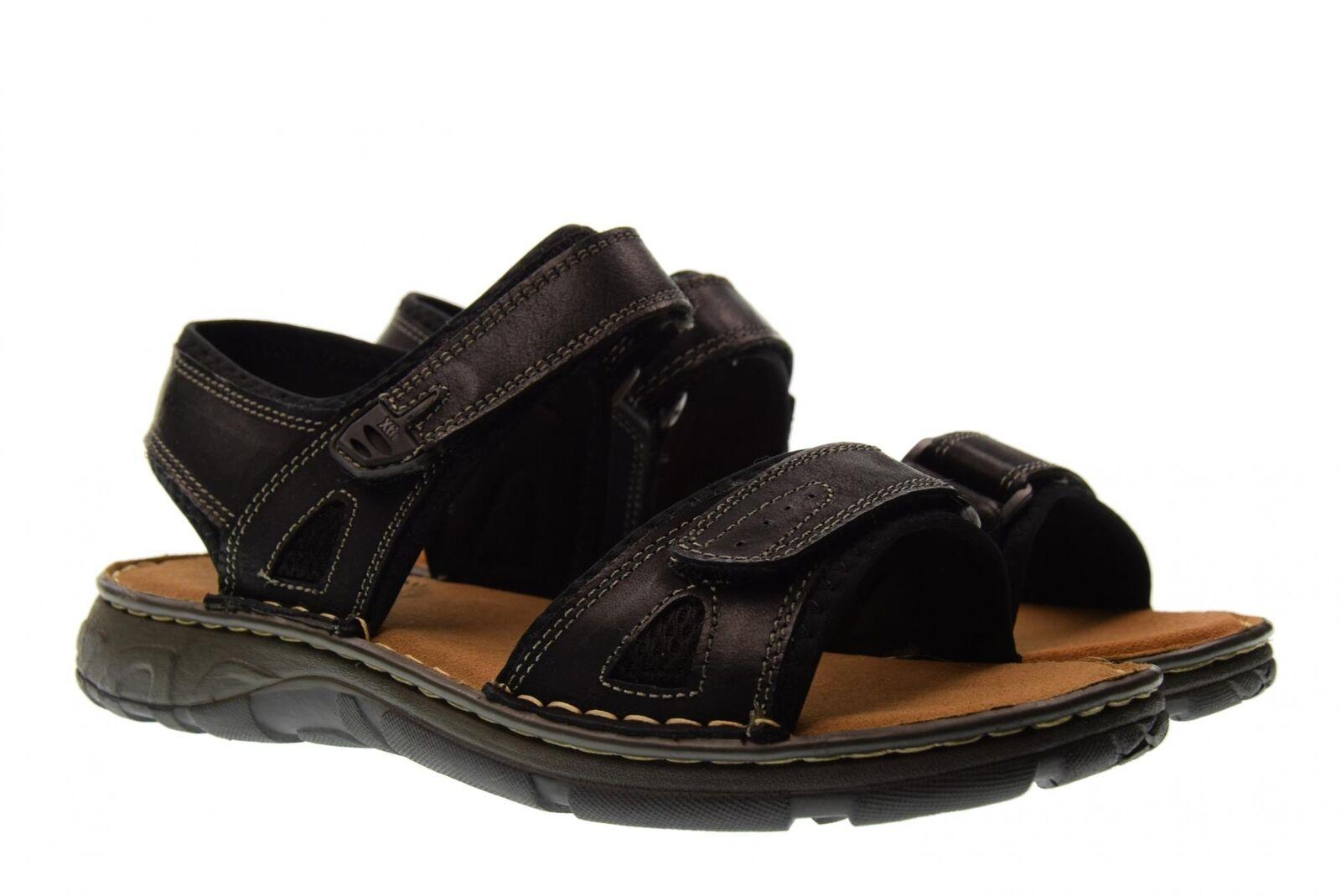 Xti scarpe uomo sandali 47128 NAPA NERO P18