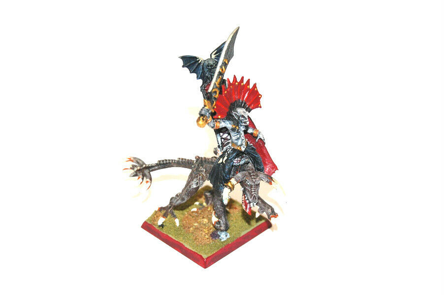 Warhammer Fantasy AoS well painted Vampire Counts Lord on Zombie Dragon (F)