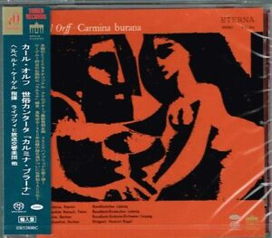 Orff-Carmina-Burana-Herbert-Kegel-Japan-SACD-w-OBI-NEW-SEALED