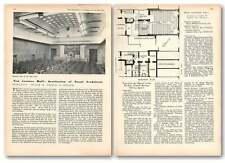 1955 Weir Hall, Institution Of Naval Architects Upper Belgrave Street