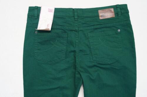 42 44  L32 dunkelgrün NEU 40 s.Oliver Tube Jeans Gr