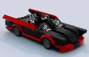 Details about Custom Lego 1960s Classic Batmobile -- LXF File and  Instructions Only