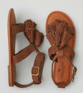 26b3c3720dc1 Image is loading Brand-New-American-Eagle-Outfitters-AEO-Leather-TASSEL-