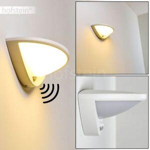 Applique LED Lampe murale blanche Lampe de jardin Lampe de terrasse ...
