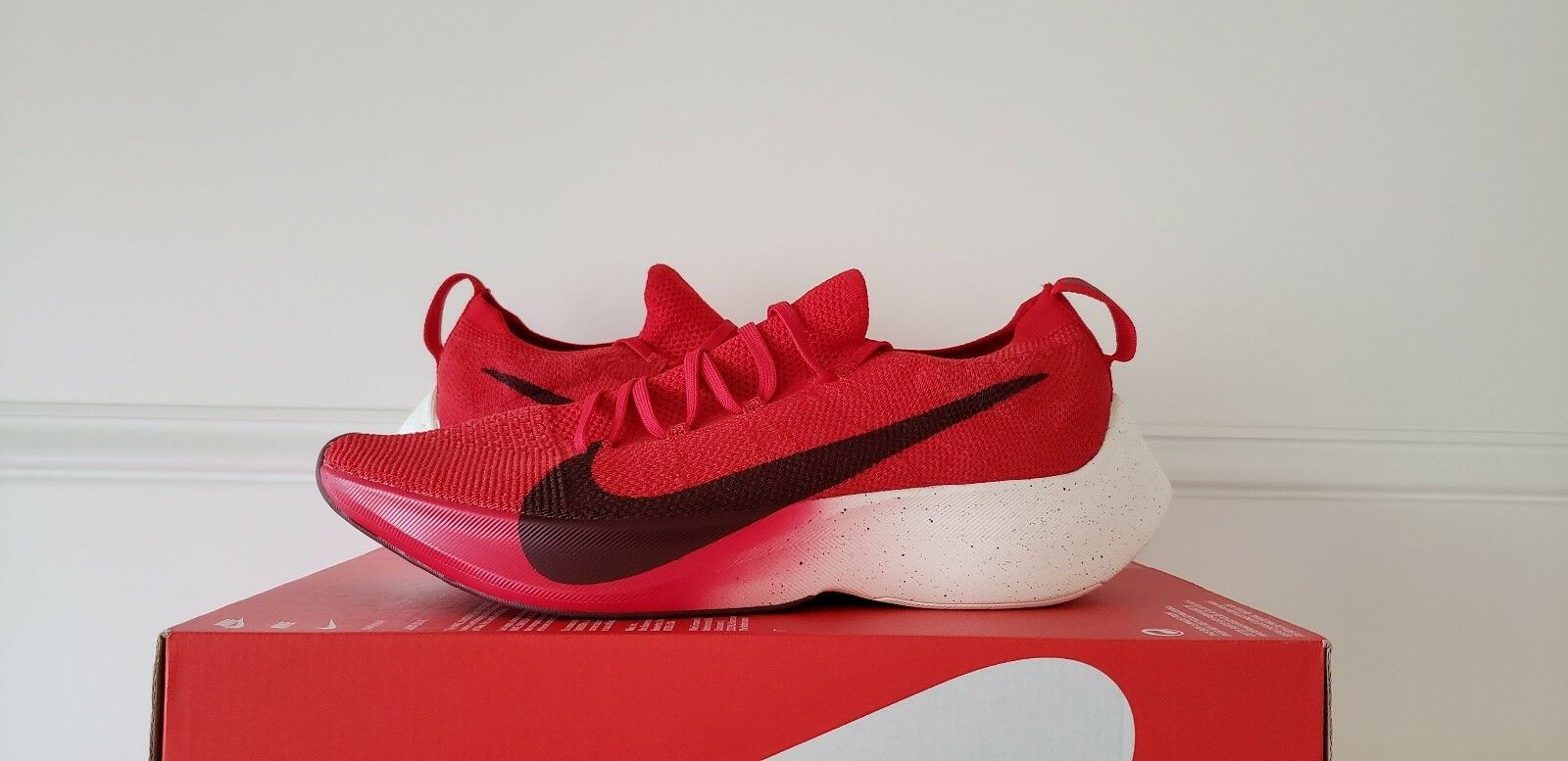 Nike Red Vapor Street Flyknit Team Red Nike [AQ1763 600] Size 10.5 React 93b0d6