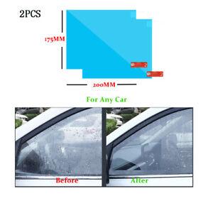 170-200mm-Anti-Fog-Rainproof-Rueckspiegel-Wasserdichte-Regenschutzfolie-Schutzfol