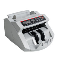 Money Bill Currency Counter Counting Machine Counterfeit Detector 110vus Plug
