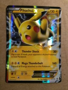 XY174 MINT Ultra Rare PIKACHU EX Pokémon Card