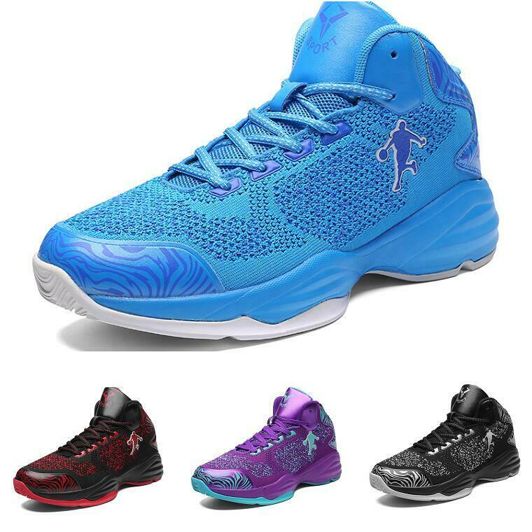 Basketball shoes Men Leisure High Top Sport Trail Sneaker Athletic Breathable Sz