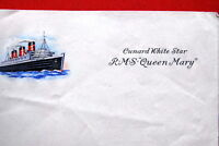 QUEEN MARY WHITE STAR LINE NOTEBOOK PAPER RMS 1936 VERY RARE UNUSED TITANIC