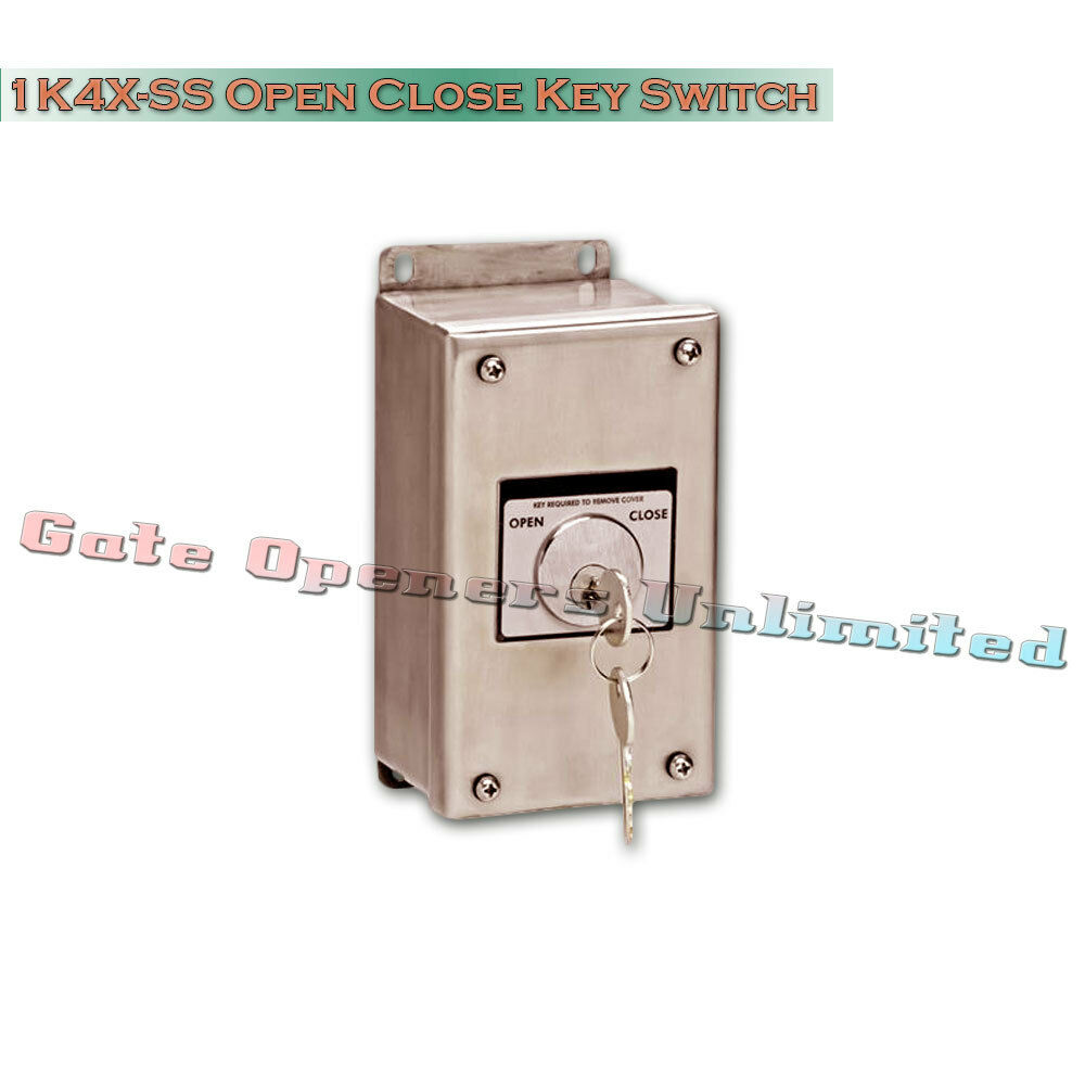 MMTC - 1K4X-SS Nema 4X Exterior Open-Close Key Switch Stainless Steel Enclosure