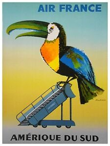 South-America-Art-Vintage-Travel-Poster-Print-11x14-034-Rare-Hot-New-XR257