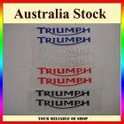 Triumph Sticker Decal Badge Emblem Logo Bike ATV Quad Motorcycle Dirt Fuel Tank