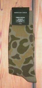 MENS-AMERICAN-EAGLE-CAMOUFLAGE-CREW-SOCKS-ONE-SIZE