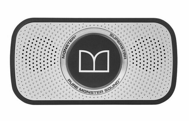 Monster 129260-00 Superstar Portable Wireless Bluetooth Speaker ...