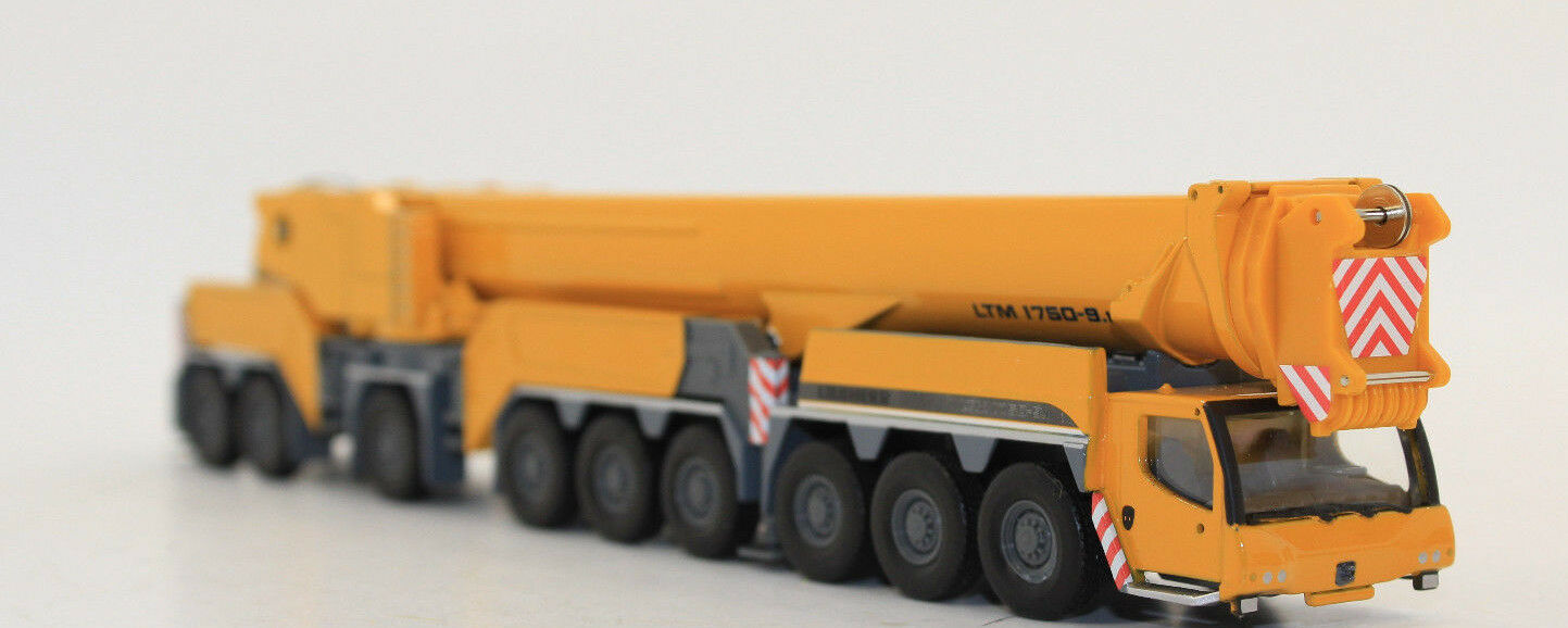 Wsi 08-1113 Liebherr Grue mobile LTM 1750 9.1 NEUF dans emballage d'origine 1 87