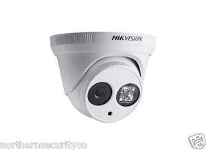 Hikvision-4mm-3MP-2MP-draussen-drinnen-Kuppel-Turret-EXIR-IR-Sicherheit