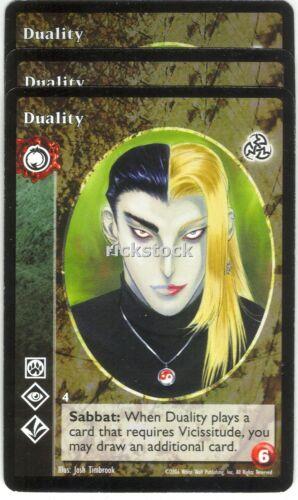 Duality x3 Tzimisce 3rd Ed VTES Jyhad