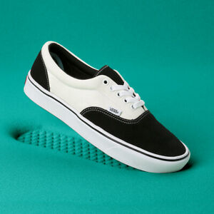 Details about VANS Mens COMFY CUSH ERA WHITE / BLACK VN0A3WM9N8K US M 7 -  10 Shoes