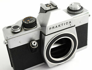 Body case praktica l vintage german m slr camera made by