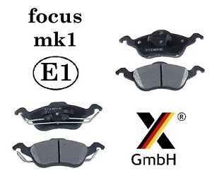 Ford-Focus-mk1-1998-2004-PLAQUETTES-FREIN-AVANT-4-Pads-NEUF-adb0490