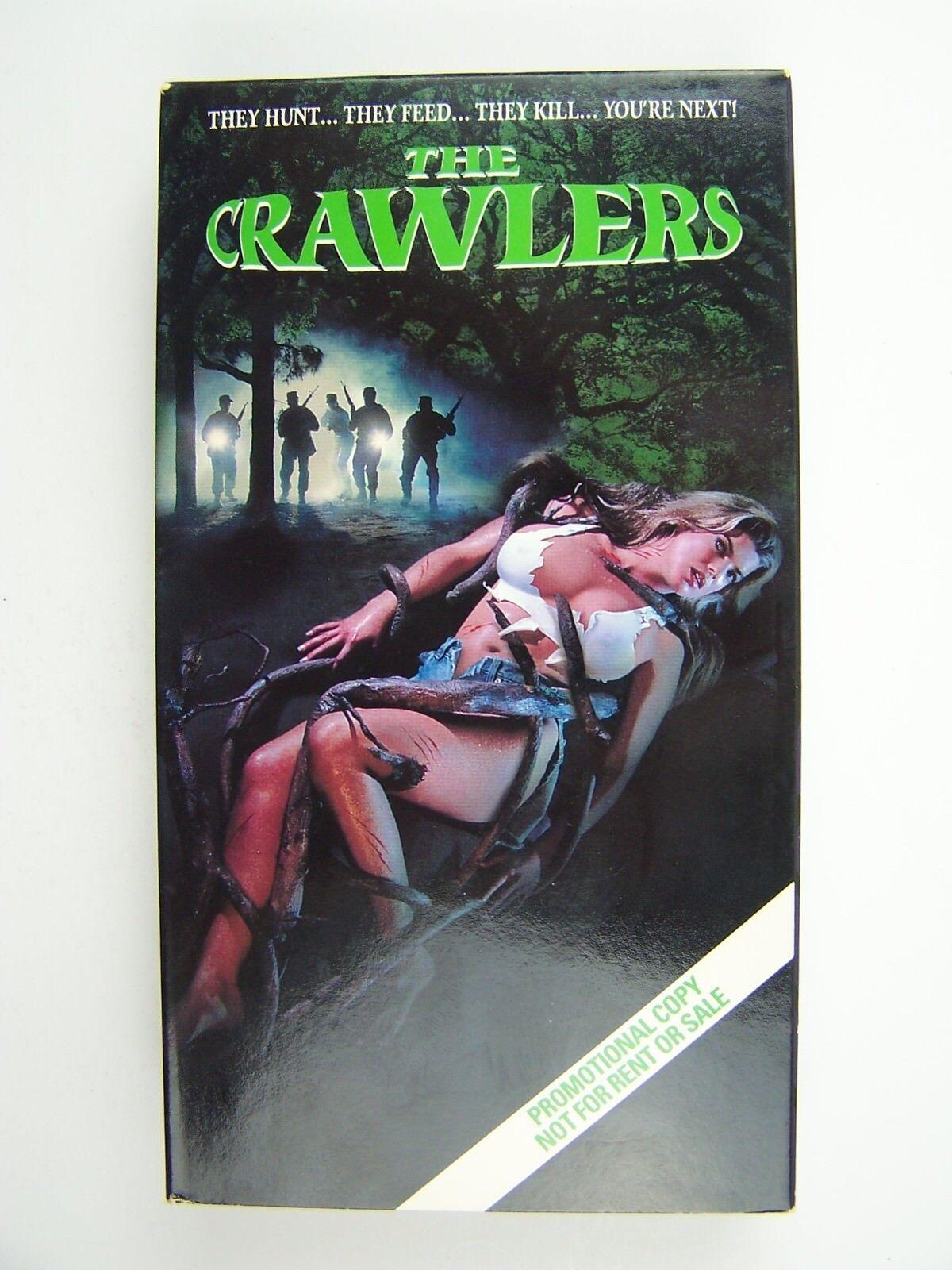 The Crawlers VHS Video Promo Screener ~RARE