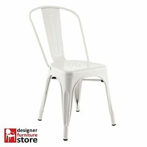 Replica-Xavier-Pauchard-Tolix-Metal-Chair-White