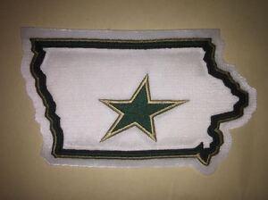 Rare-Iowa-Stars-AHL-Hockey-Jersey-Shoulder-Patch-Crest-White-C